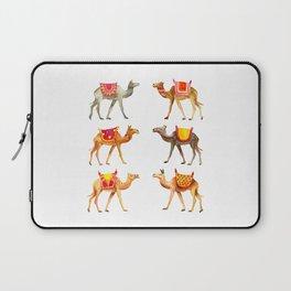 Cute watercolor camels Laptop Sleeve