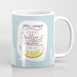 Roller coaster kind of brave Coffee Mug