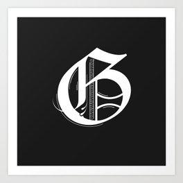 Letter G Art Print