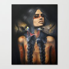 Running Eagle Canvas Print