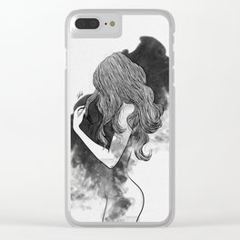 The gates of darkness. Clear iPhone Case
