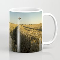 balloon Mugs featuring Balloon by Kailey Worf