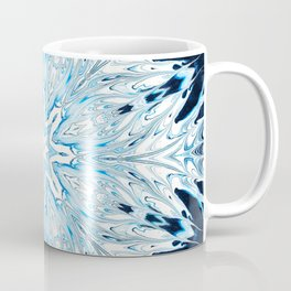 Winter Snowflake Mandala Coffee Mug