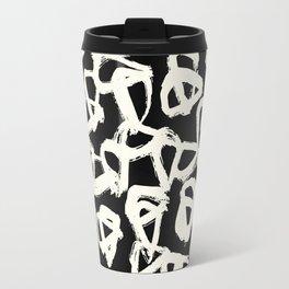 Tribal Triangle Dots Travel Mug