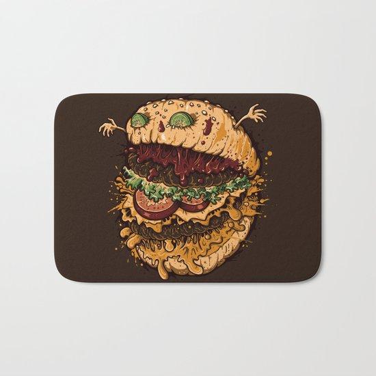 Monster Burger Bath Mat
