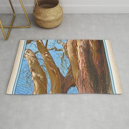 MADRONA TREE BY THE SEA Rug
