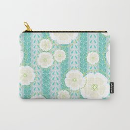 Kanzashi Willow - blues Carry-All Pouch