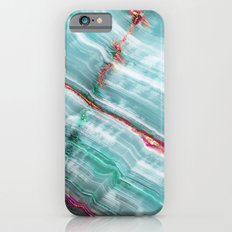 Jade Mint Marble Paint Abstract  Slim Case iPhone 6