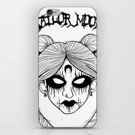 Black Metal Sailor Moon iPhone Skin