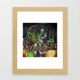 Contraption of Waste Framed Art Print