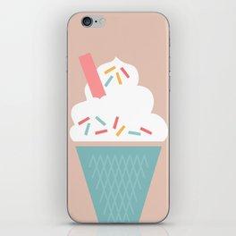 Ice Cream (Peach) iPhone Skin