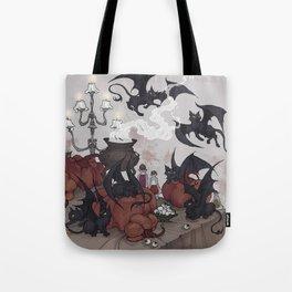 Samhain Kittens Tote Bag