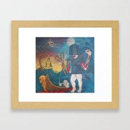 Fates Thread Framed Art Print