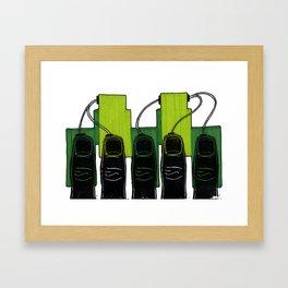 Hardwired Framed Art Print