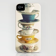 teacups Slim Case iPhone (4, 4s)