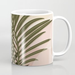 Nomade Palms / Palm leaves, Abstract shapes Coffee Mug