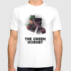 Cassandre Spirit - The green hornet Mens Fitted Tee MEDIUM White