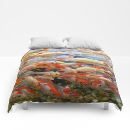 Overcrowded School Comforters