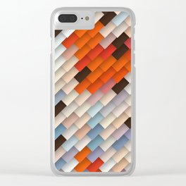 scales & shadows Clear iPhone Case