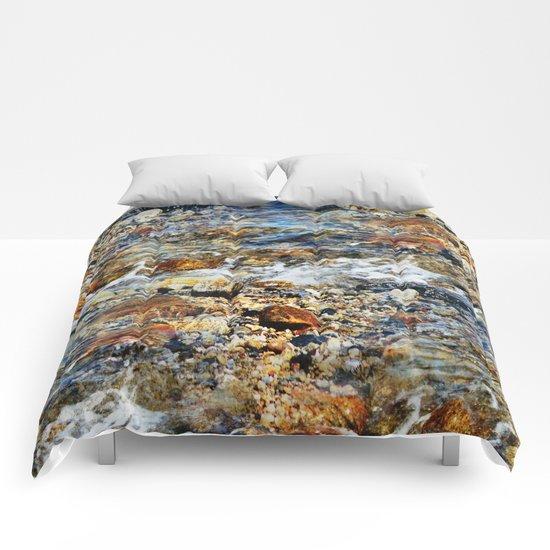 Peaceful Soothing Waters Comforters