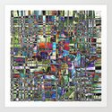 Colorful Chaotic Composite by perkinsdesigns