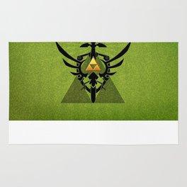 Zelda Link Triforce Rug