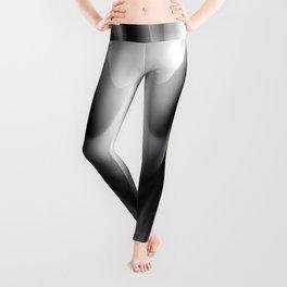 DREAM PATH (Black, Grays & White) Leggings
