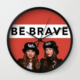 CHIPPY & BE BRAVE TEAM COLLECTION Wall Clock