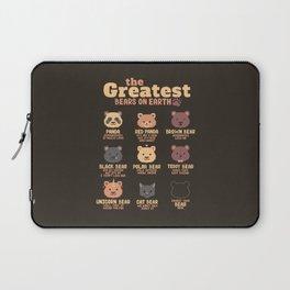 Greatest Bears Insert your Bear Laptop Sleeve