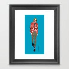 comme des garcons Framed Art Print