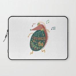 Simple Things Make Me Happy Laptop Sleeve