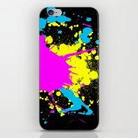 splatter iPhone & iPod Skins featuring Splatter by Spooky Dooky