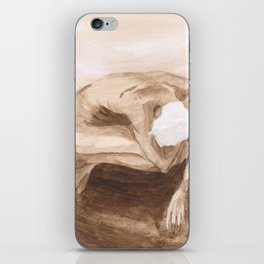 """""""Time and Death and God"""" [Series Part 2] iPhone Skin"""