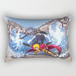 Sage Art : Spiraling Thunderstorm Shuriken Rectangular Pillow