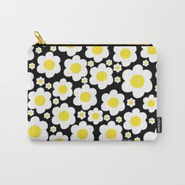 60s Daisies Pop Art Carry-All Pouch