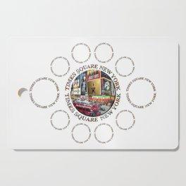 Times Square New York City (multi badge emblem) Cutting Board