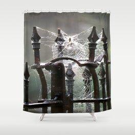 """""""Tangled Webs"""" jjhelene design Shower Curtain"""