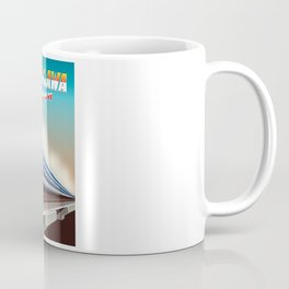 Shinagawa Japan travel poster Coffee Mug