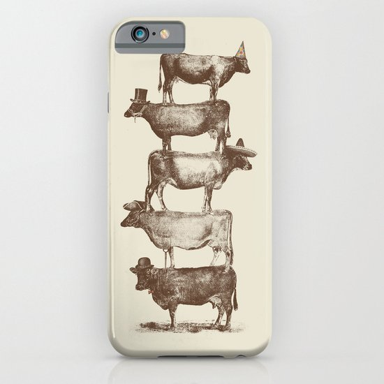 Cow Cow Nuts iPhone & iPod Case