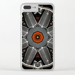 Ol Bus Clear iPhone Case