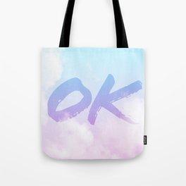 Summer Clouds OK Tote Bag