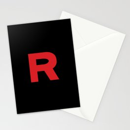 Team Rocket Logo Stationery Cards