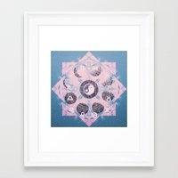 trippy Framed Art Prints featuring Trippy by Sara Eshak
