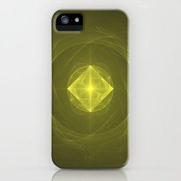 Gazing into the Eye of the Pyramid iPhone Case