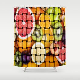 Fruit Paradise Shower Curtain