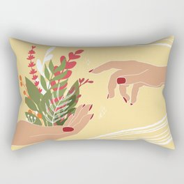 The Creation of Life Rectangular Pillow
