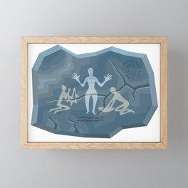 Prehistoric Goddess Framed Mini Art Print