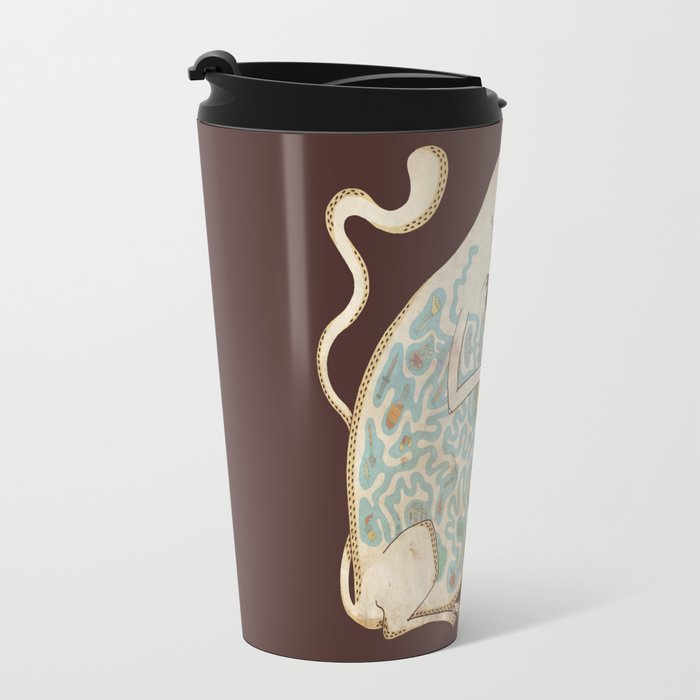 In the Belly of the Beast. Travel Mug