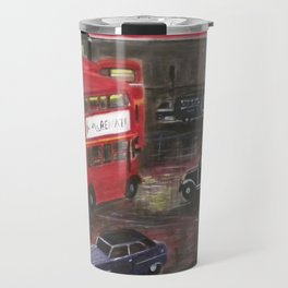 Evening in Piccadilly, London Travel Mug