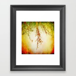 autumn mood Framed Art Print